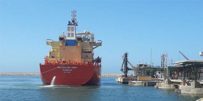 "OCP reçoit son navire gazier ""Navigator Jorf"""