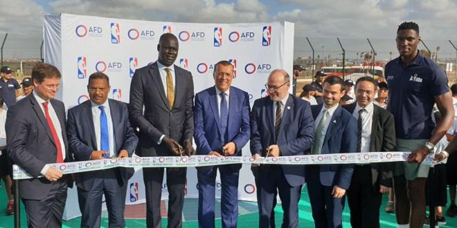 Zenata : La NBA et l'AFD promeuvent le basket chez les jeunes