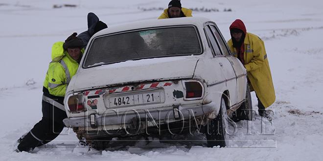 Alerte Météo : Fortes chutes de neige