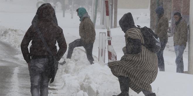Chute de neige: retour à la normale à Taza