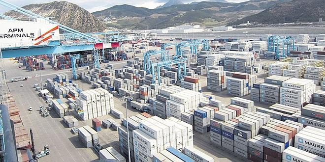 Tanger-Med capte la moitié des exportations marocaines