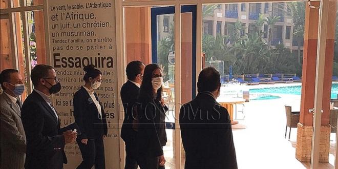 Mesures sanitaires: Nadia Fettah Alaoui prospecte les hôtels d'Essaouira
