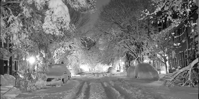USA: tempête hivernale, plusieurs vols annulés