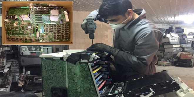 Anciens téléphones, ordinateurs usagés... Une nouvelle vie grâce au recyclage