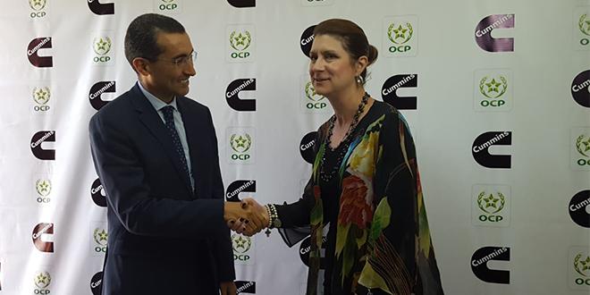 Reconstruction de moteurs : OCP et Cummins investissent à Khouribga