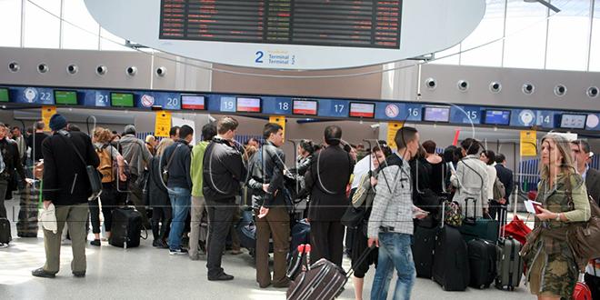 Aéroports : Hausse de 10% du trafic passagers