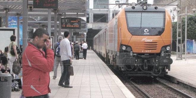 ONCF : Record de voyageurs durant la période de l'Aïd