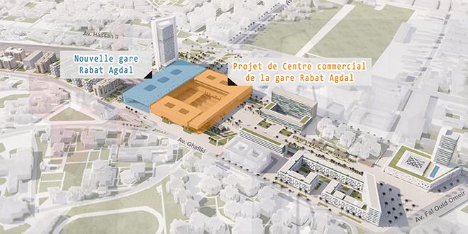 ONCF : Un marché à prendre à Rabat-Agdal