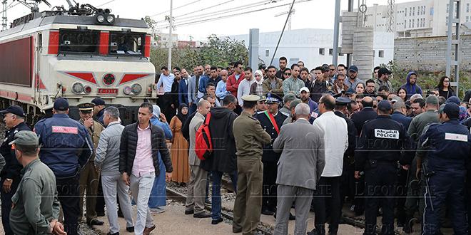 L'ONCF dénonce le blocage des voies ferrées