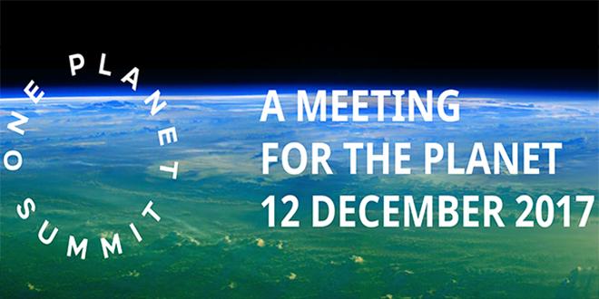 Le Roi au Sommet mondial sur le climat «One Planet Summit»
