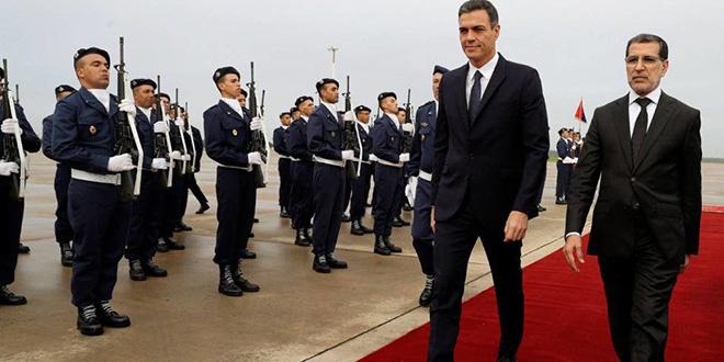 El Othmani s'entretient avec le président du gouvernement espagnol