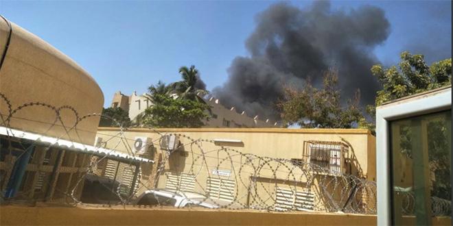 DIAPO-Ouagadougou: attaque vise l'ambassade de France et l'Institut français