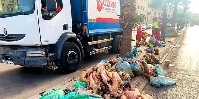 Fès: Course contre la montre pour débarrasser la ville de ses ordures