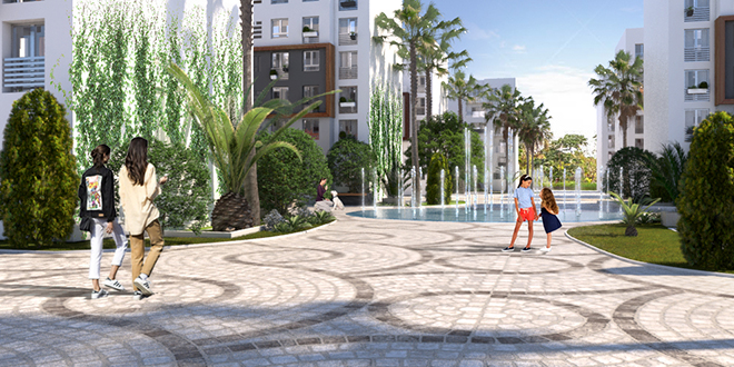 Casablanca : Palm Immobilier commercialise Palm Square