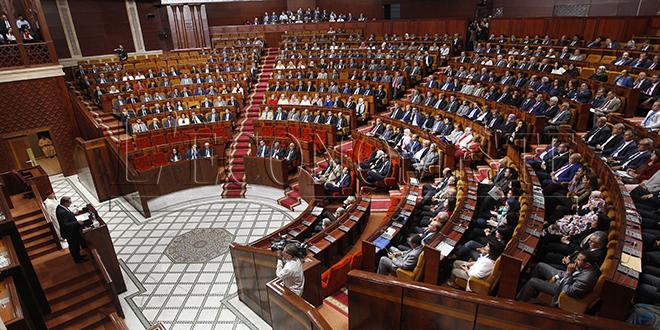 Chambre des représentants : séance plénière ce lundi