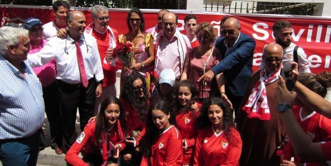 DIAPO/ Supercoupe : Le FC Séville inaugure un club de fans
