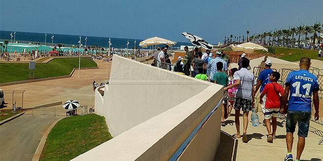 Rabat étrenne sa grande piscine