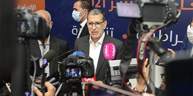 """El Othmani: """"Nous ne pouvons pas nous prononcer sur les résultats sans les PV"""""""