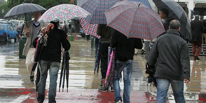 Averses orageuses localement fortes mardi et mercredi