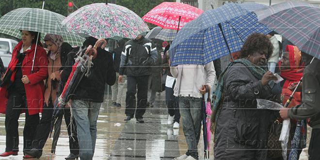 Alerte Météo : La semaine prochaine sera pluvieuse