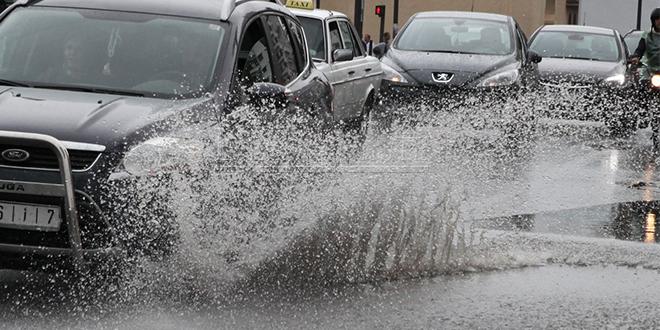 Des pluies dans certaines régions