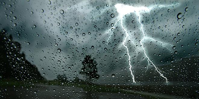 Averses orageuses localement fortes dans plusieurs provinces