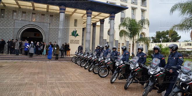 Un lot de véhicules et de motocycles remis à la police de Fès