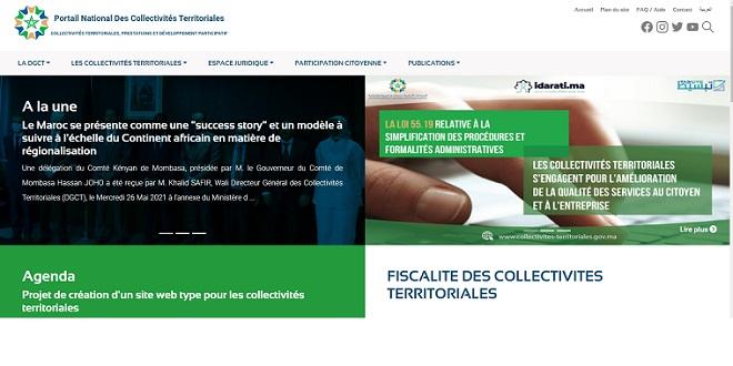 Un nouveau portail des collectivités territoriales