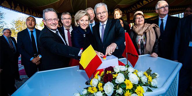 Rabat : Une ambassade durable pour la Belgique