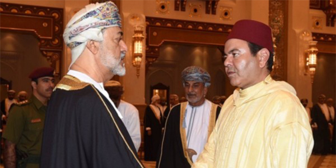 Le prince Moulay Rachid à Oman