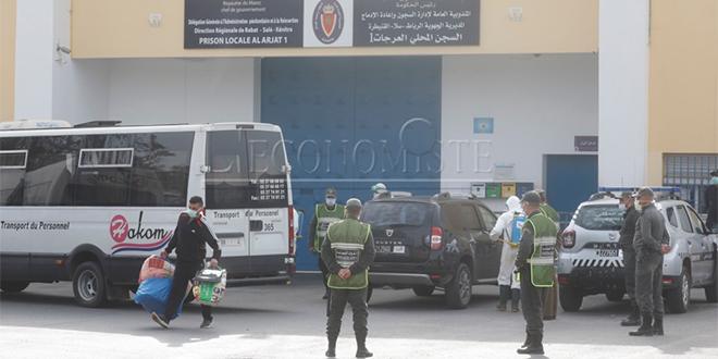 Établissements pénitentiaires: 11 cas de Covid19 enregistrés