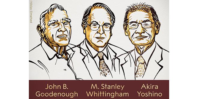 Le Nobel de Chimie prime les pionniers des batteries lithium-ion