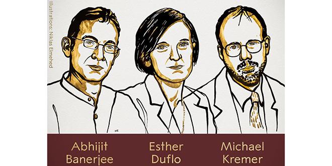 Nobel d'Économie: Un trio primé