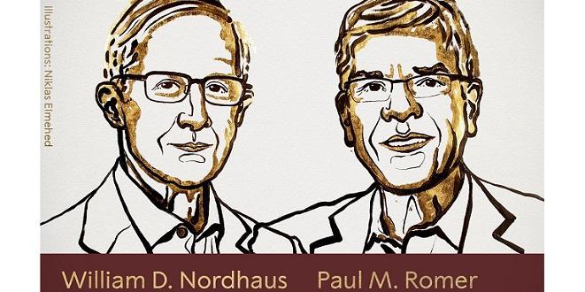 Nobel d'économie : Deux Américains primés