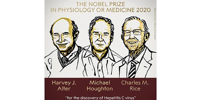 Deux Américains et un Britannique décrochent le Prix Nobel de médecine