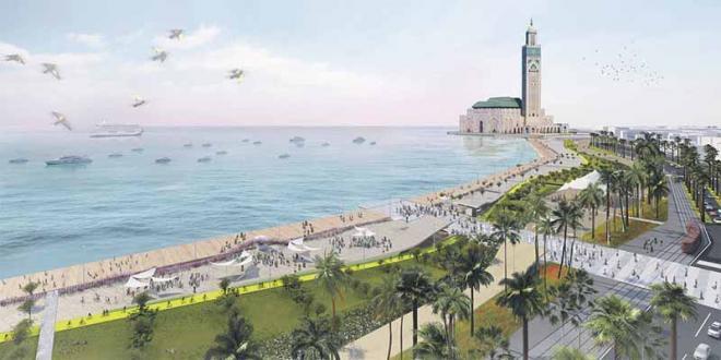 Casablanca: La Mosquée Hassan II se met au vert