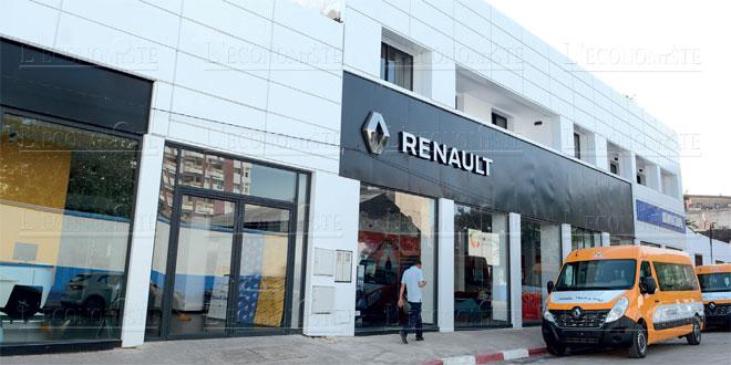 renault maroc s offre un showroom de 2 ha f s l 39 economiste. Black Bedroom Furniture Sets. Home Design Ideas