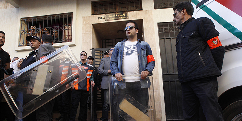DIAPO / Affaire Hassan Shimi : Reconstitution du crime