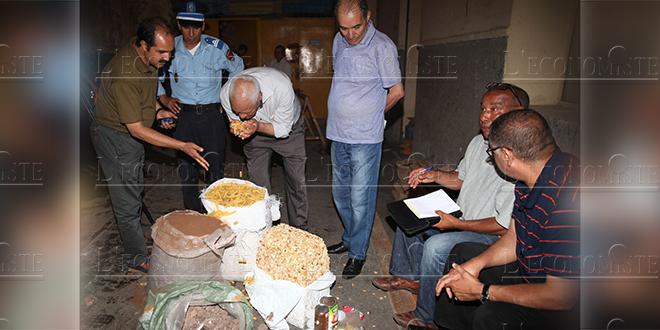 Tanger-Tétouan-Al Hoceima: 263 tonnes de produits impropres à la consommation