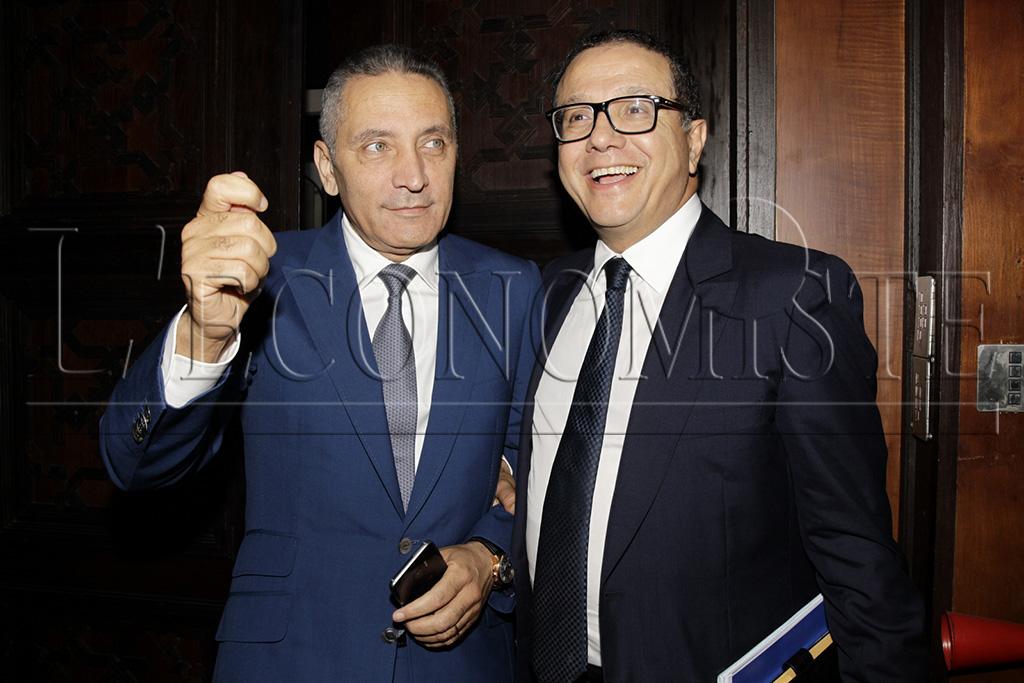 Moulay Hafid Elalamy et Mohamed Boussaïd