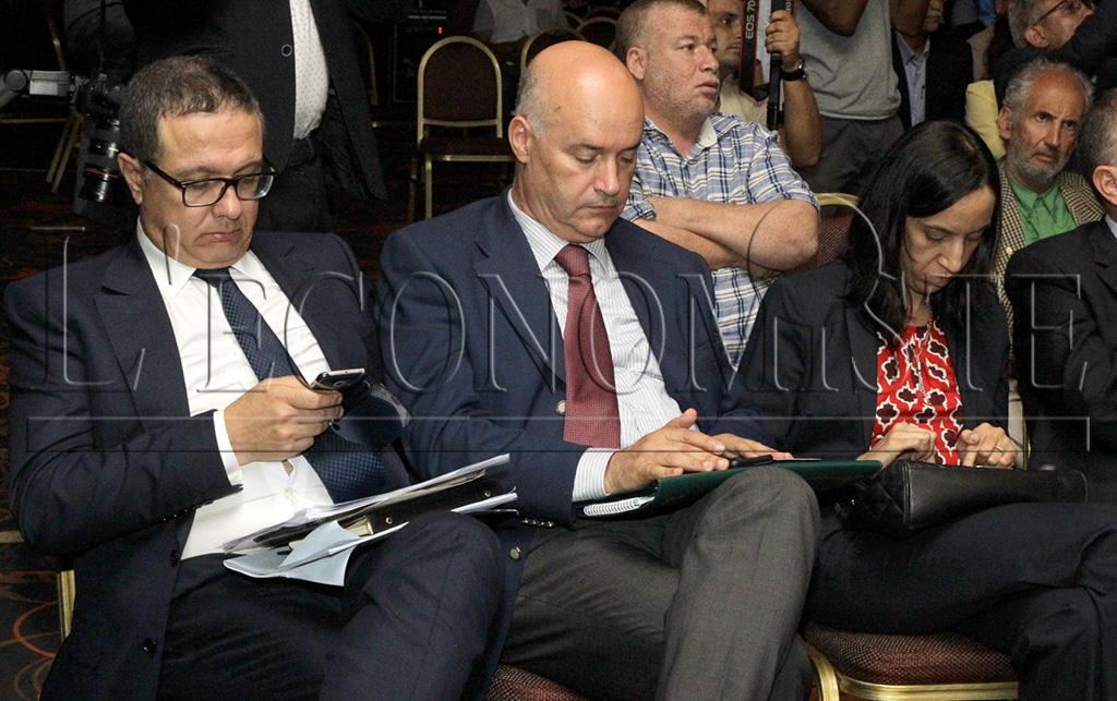 Mohamed Boussaïd, Anis Birou etNawal El Moutawakel