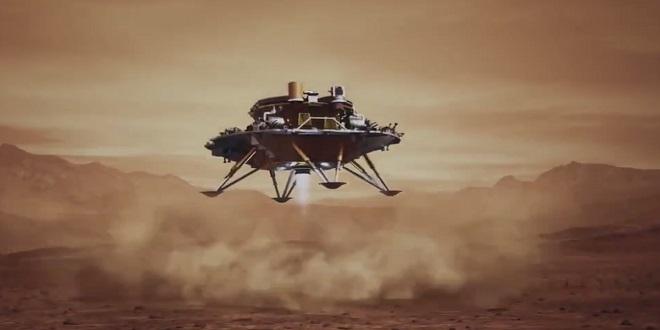 Un robot chinois atterrit avec succès sur Mars