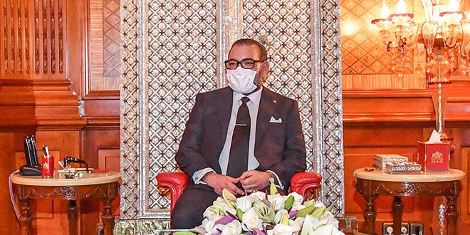 Le Roi Mohammed VI félicite le Pape François