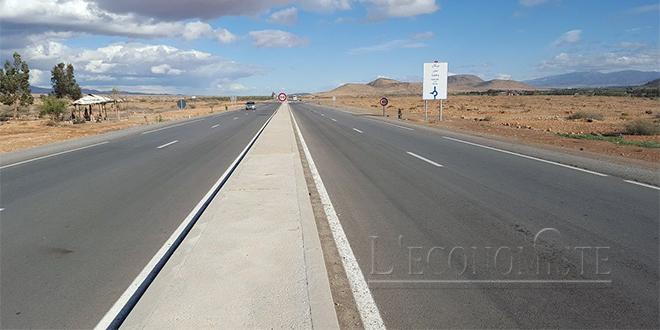 Guelmim: Interruption de la circulation sur la route reliant Lakhssas et Tagant