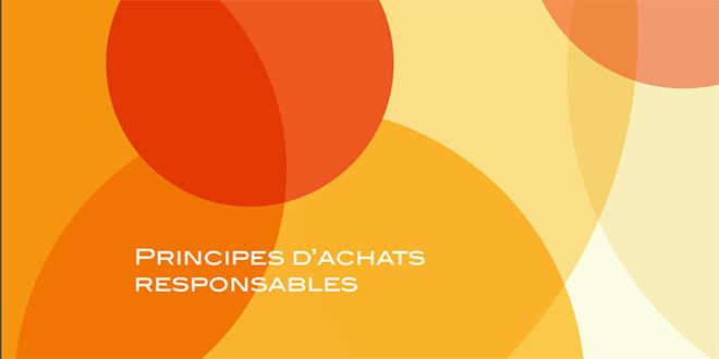 DOC-Charte des principes d'achats responsables: AWB engage ses fournisseurs