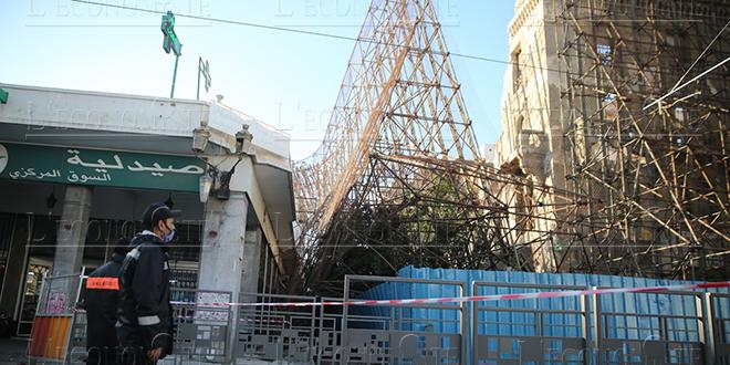 Risque d'effondrement de l'hôtel Lincoln: arrêt de circulation de la ligne 1 du Tramway