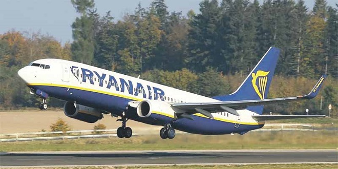 Ryanair: 4 bases espagnoles seront fermées