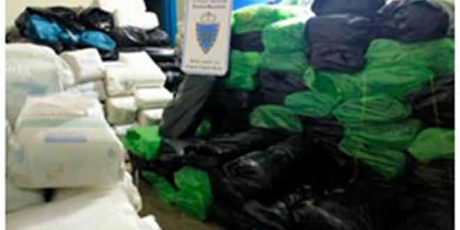 Sacs en plastique: Grosse saisie de la Douane à Agadir