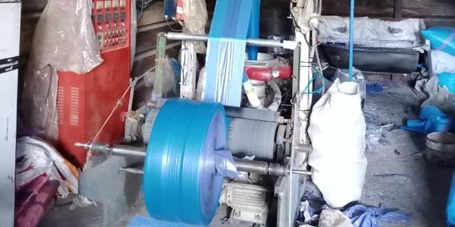 Sacs en plastique: Un atelier clandestin démantelé