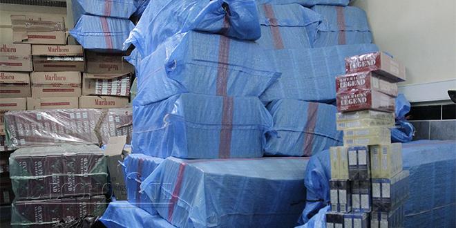 Contrebande: Les saisies de la douane en baisse